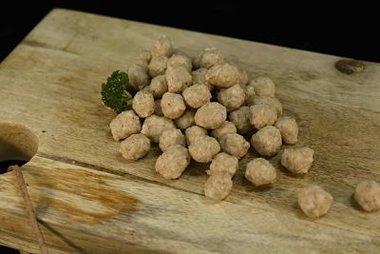 Soepballetjes van gevogelte doos van ong 450 gr