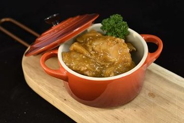 Kalkoenstoofvlees klaargemaakt 14,90 €/kg