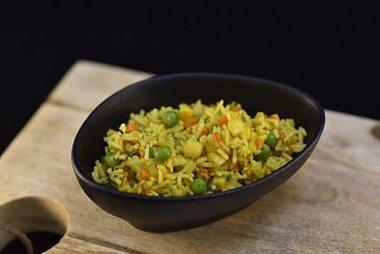 Oosterse rijst met fijne groentjes 9,00 €/kg