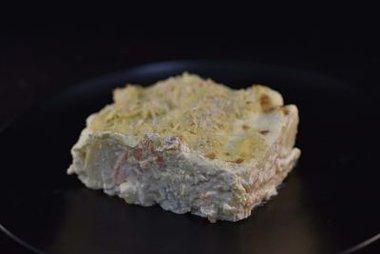 Romige aardappel-gratin met kaassaus en GROENTEN