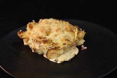 Romige aardappel-gratin meditarine ong 500 gram